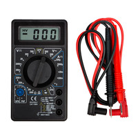 Digital Multimeter Amperemeter Ohm hFE 6 Funktionen...